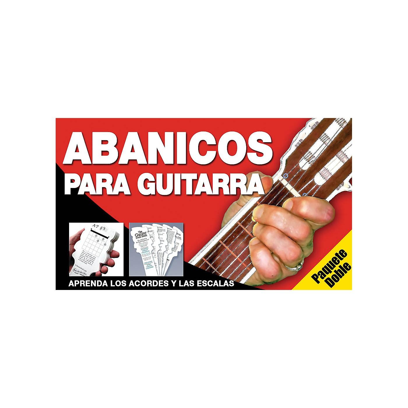 Music Sales Abanicos Para Guitarra - Paquete Doble Music Sales America Series Written by Ed Lozano thumbnail