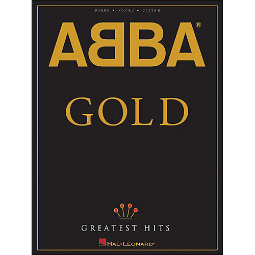 Hal Leonard Abba Gold Greatest Hits arranged for piano, vocal, and guitar (P/V/G) thumbnail