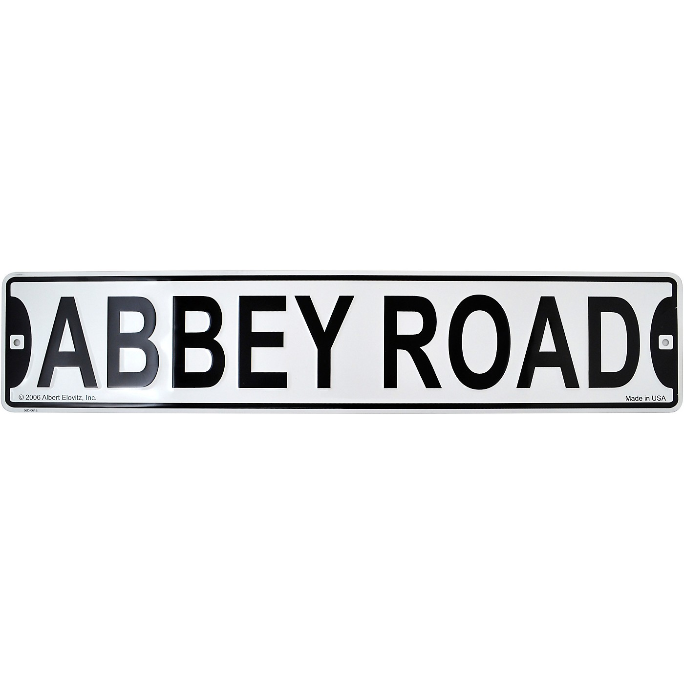 AIM Abbey Road Acrylic Street Sign Magnet thumbnail