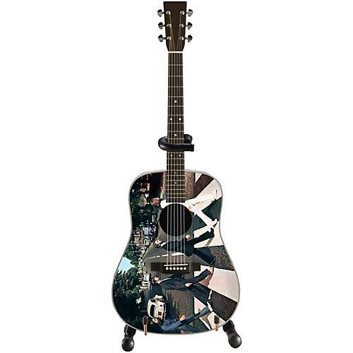 Axe Heaven Abbey Road Fab Four Tribute Mini Acoustic Guitar Replica thumbnail