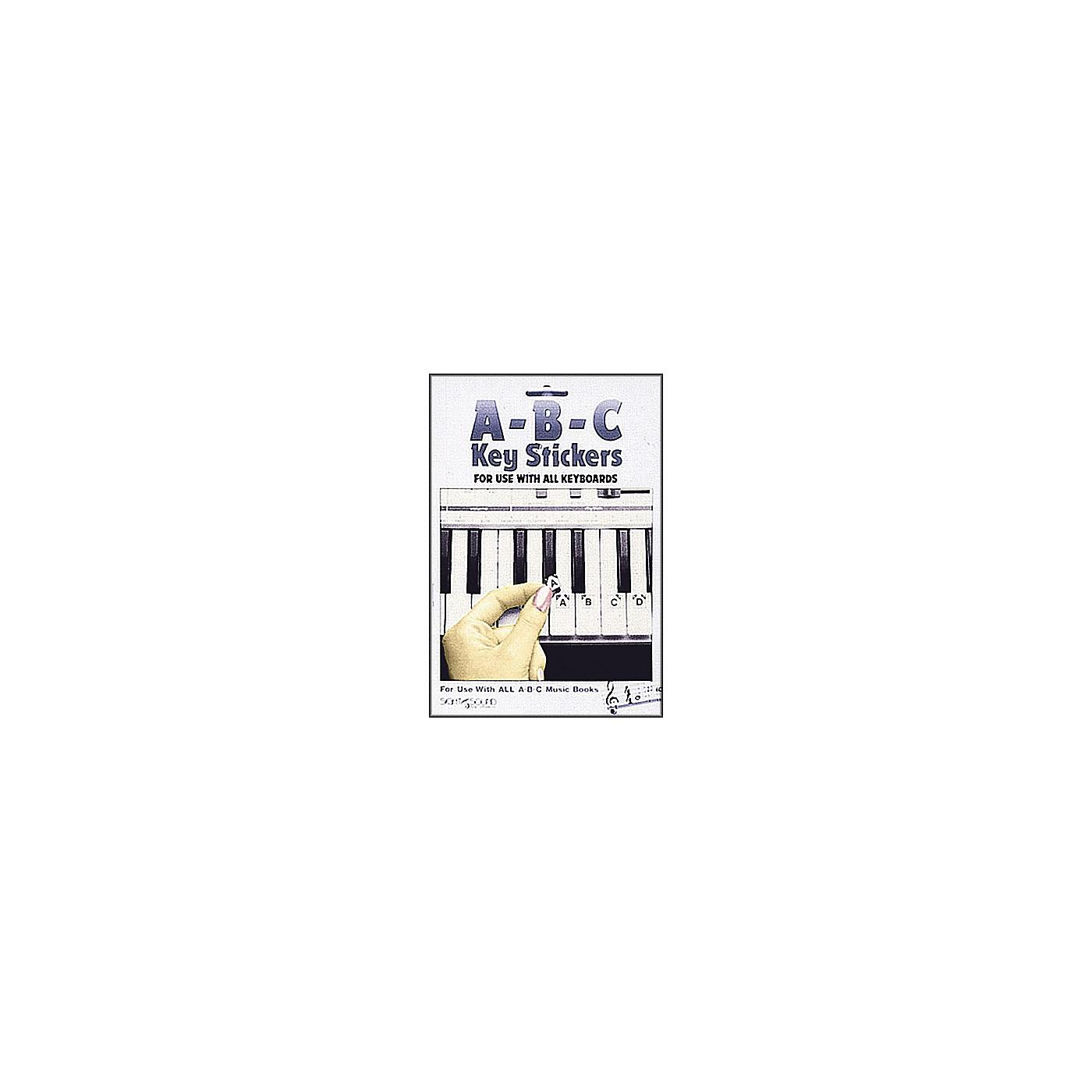 Hal Leonard Abc Keyboard Stickers thumbnail