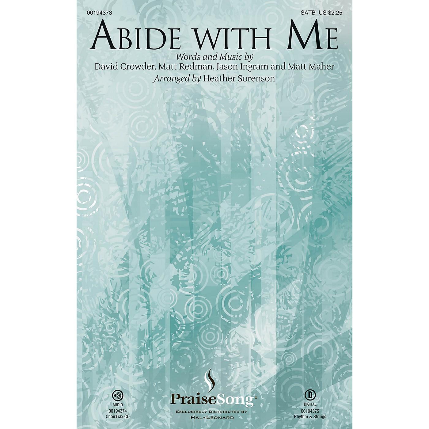 PraiseSong Abide with Me CHOIRTRAX CD by Matt Redman Arranged by Heather Sorenson thumbnail