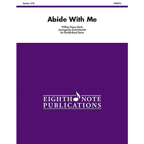 EIGHTH NOTE Abide with Me (Flexible Instrumentation) Concert Band Grade 2 (Easy) thumbnail