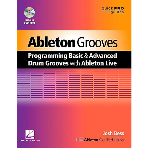 Hal Leonard Ableton Grooves Book/DVD-ROM thumbnail