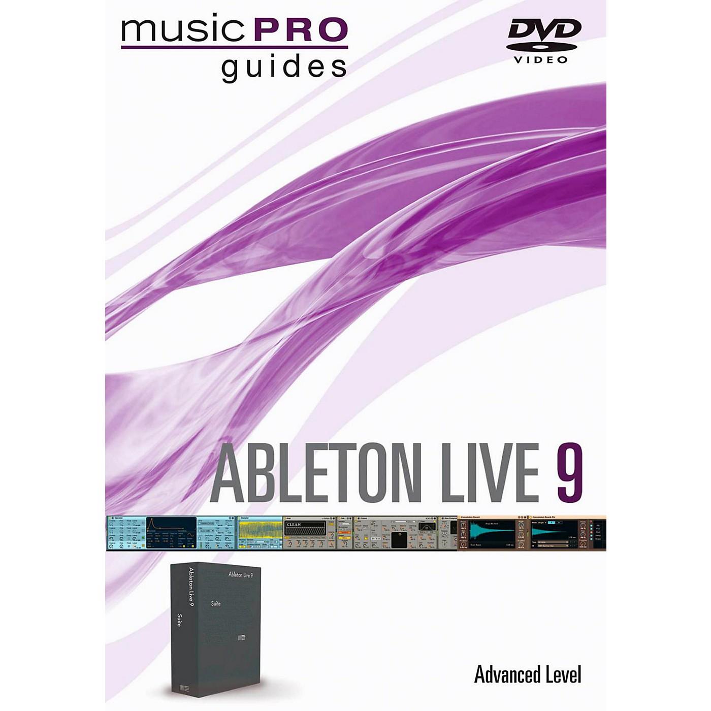 Hal Leonard Ableton Live 9 Advanced Level Music Pro Guide DVD thumbnail