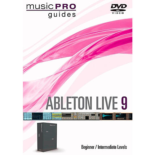 Hal Leonard Ableton Live 9 Beginner/Intermediate Level Music Pro Guide DVD thumbnail