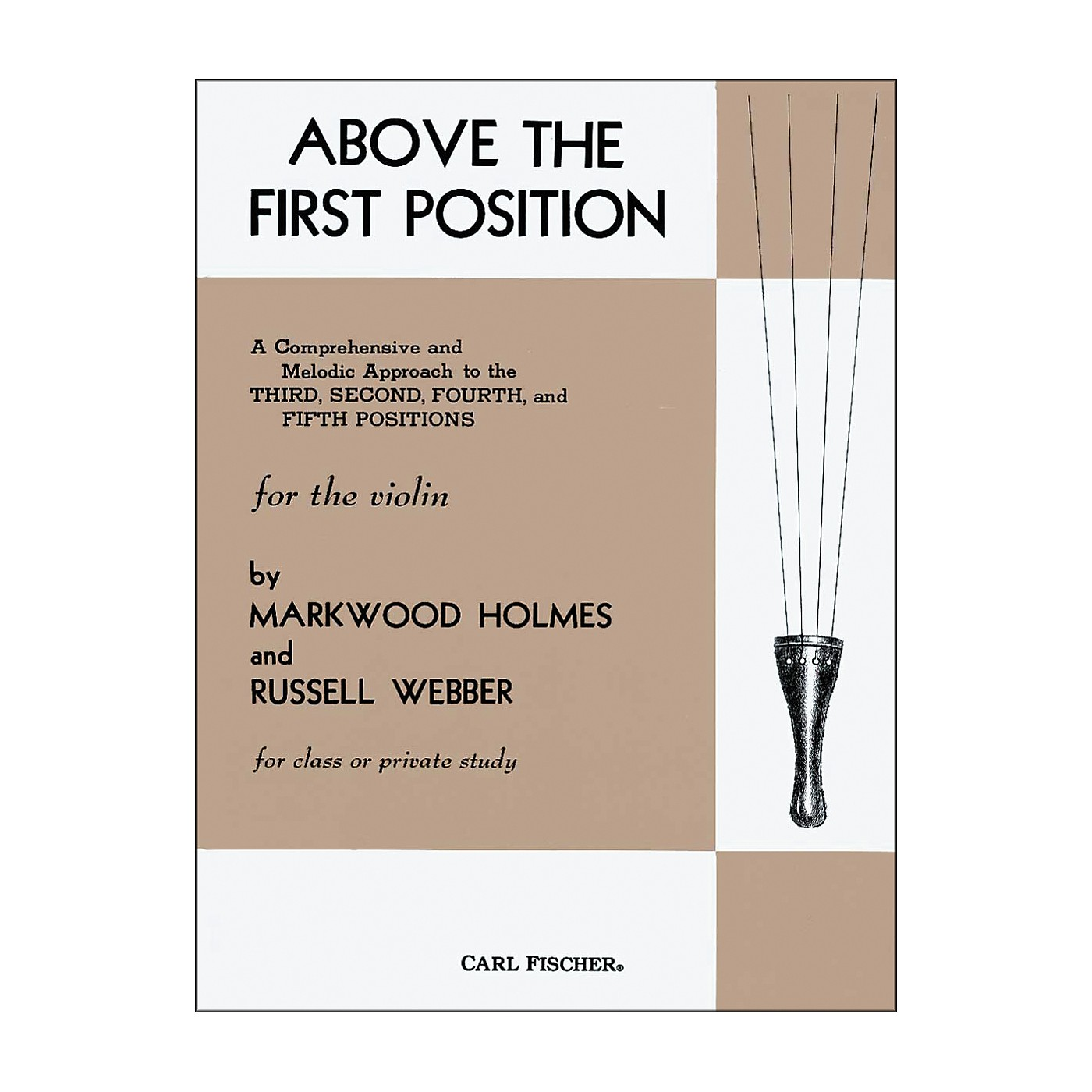Carl Fischer Above The First Position Book thumbnail