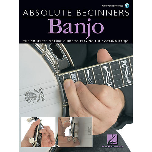 Music Sales Absolute Beginners - Banjo Music Sales America Series Softcover with CD Written by Bill Evans thumbnail