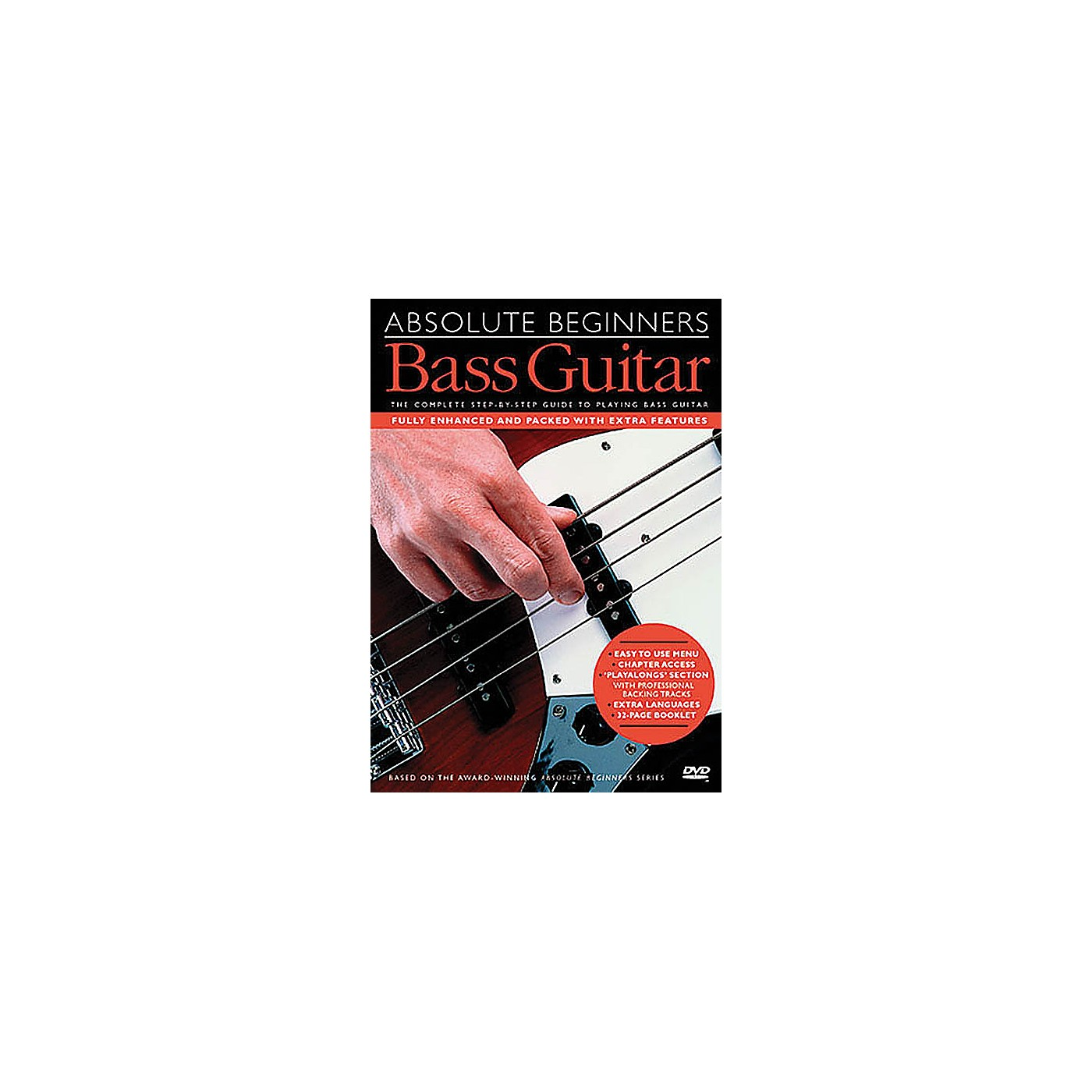 Music Sales Absolute Beginners - Bass Guitar Music Sales America Series DVD thumbnail