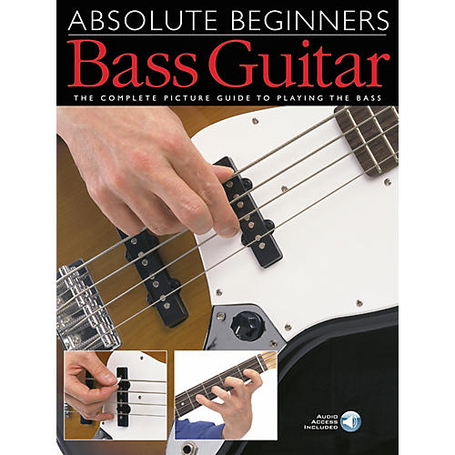 Music Sales Absolute Beginners - Bass Guitar Music Sales America Series Softcover with CD Written by Various thumbnail