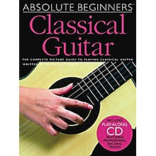 Music Sales Absolute Beginners - Classical Guitar Music Sales America Series Softcover with CD