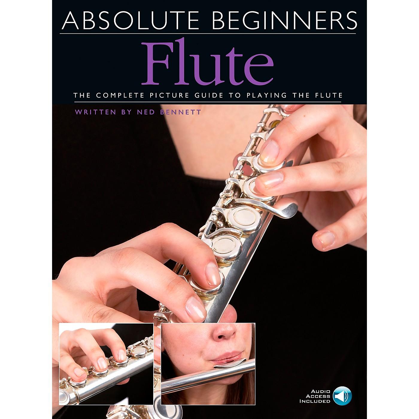 Music Sales Absolute Beginners - Flute Book/CD thumbnail