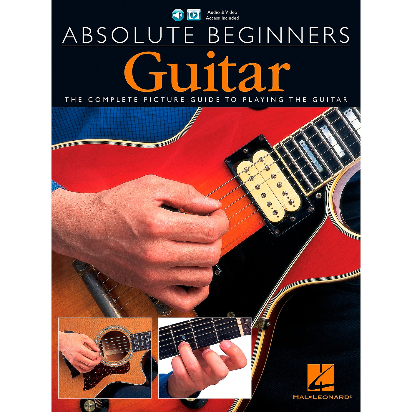 Music Sales Absolute Beginners - Guitar (Book/CD/DVD Value Pack) Music Sales America Series Written by Various thumbnail