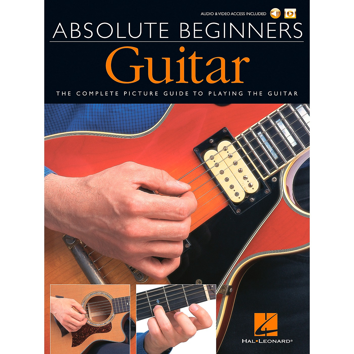 Music Sales Absolute Beginners - Guitar (Book/DVD Pack) Music Sales America Series Softcover with DVD by Various thumbnail