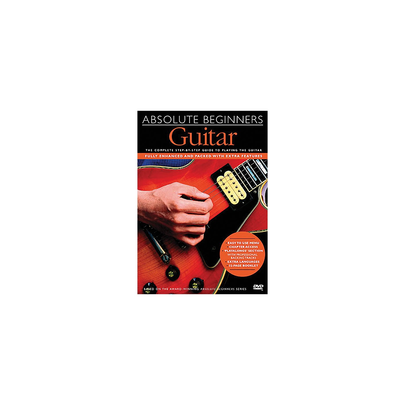 Music Sales Absolute Beginners - Guitar Music Sales America Series DVD Written by Dick Arthur thumbnail