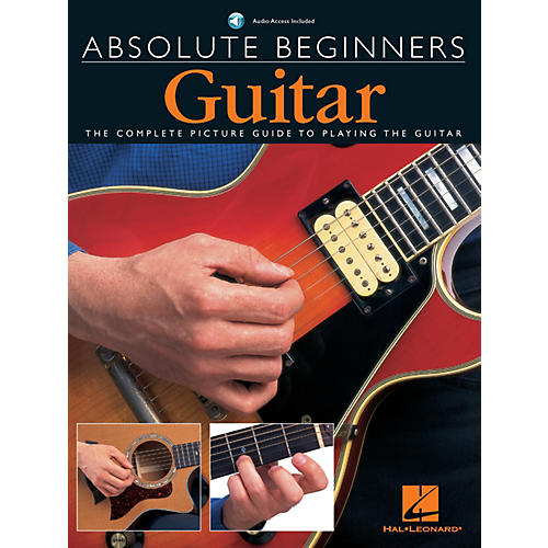 Music Sales Absolute Beginners - Guitar Music Sales America Series Softcover with CD Written by Various Authors thumbnail