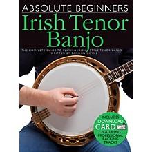 Music Sales Absolute Beginners - Irish Tenor Banjo (Book/Online Audio)