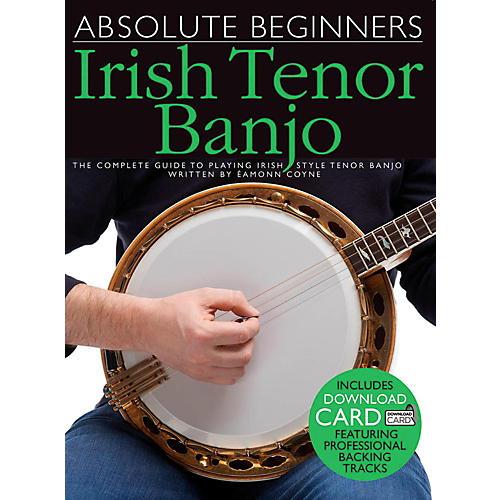 Music Sales Absolute Beginners - Irish Tenor Banjo (Book/Online Audio) thumbnail