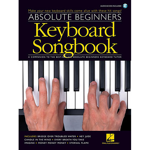Music Sales Absolute Beginners - Keyboard Songbook Music Sales America Series Softcover with CD Composed by Various thumbnail