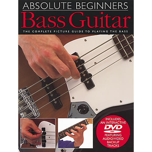 Music Sales Absolute Beginners Bass Guitar Book and DVD thumbnail