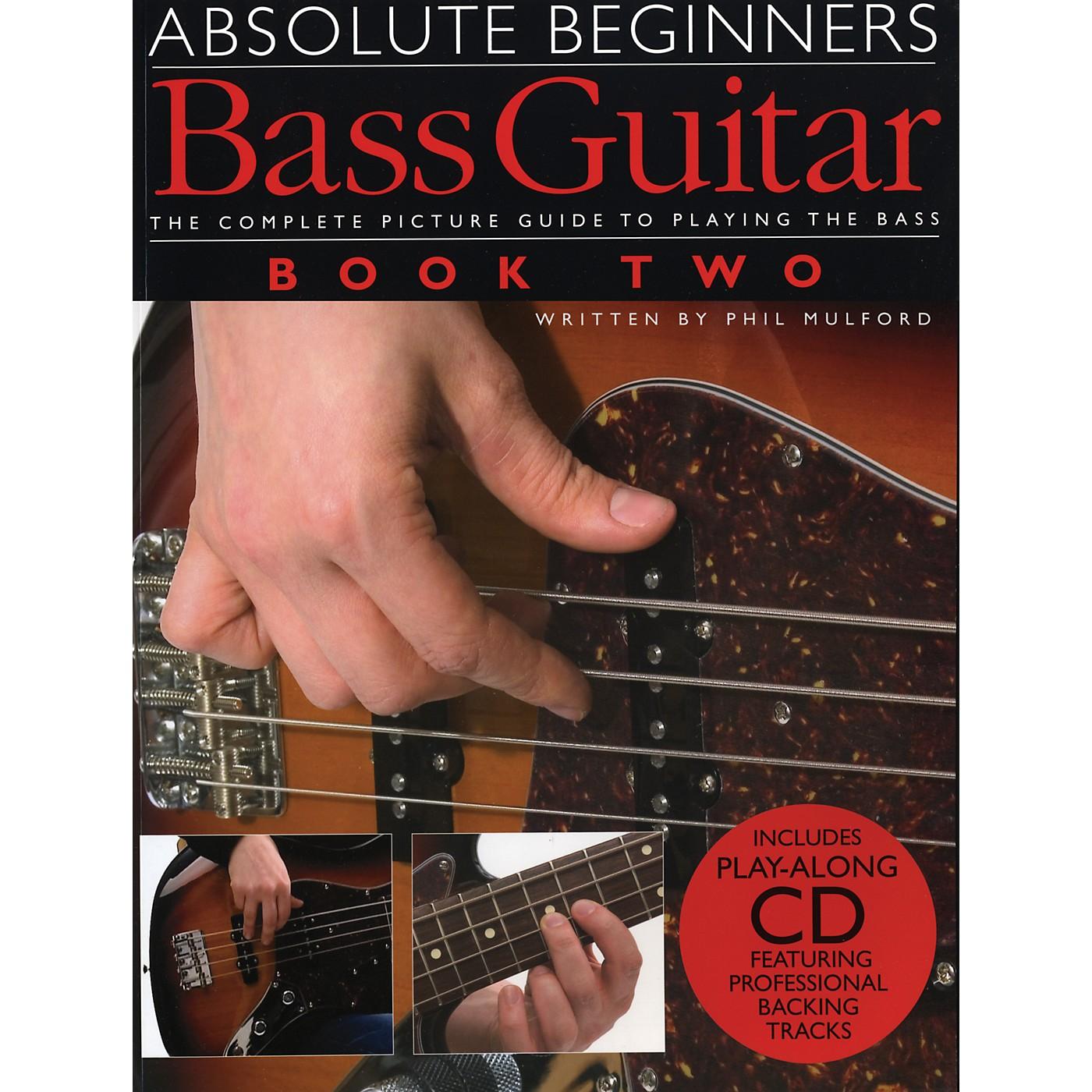 Music Sales Absolute Beginner's Bass Volume 2 (Book/CD) thumbnail