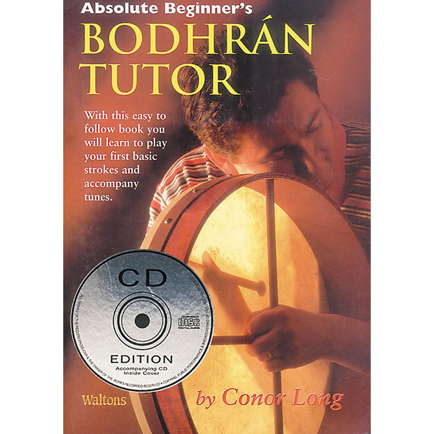 Waltons Absolute Beginner's Bodhrán Tutor Waltons Irish Music Books Series Written by Conor Long thumbnail