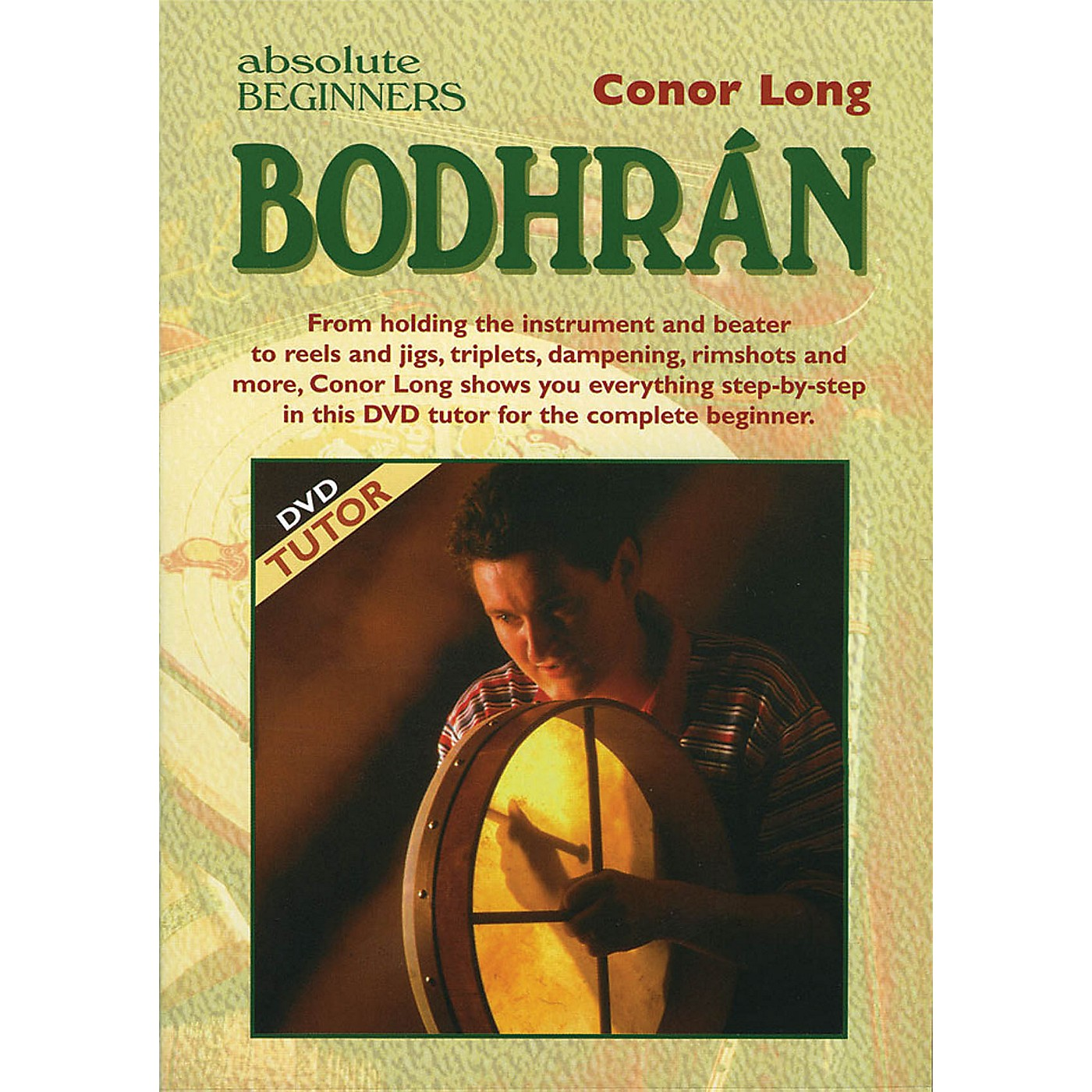 Waltons Absolute Beginners: Bodhrán Waltons Irish Music Dvd Series DVD Written by Conor Long thumbnail