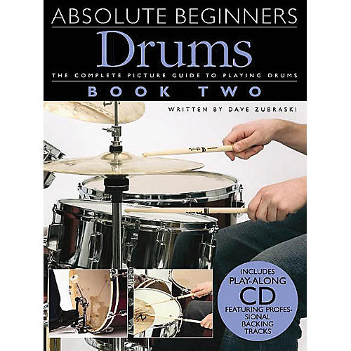 Music Sales Absolute Beginners: Drums - Book 2 Music Sales America Series Softcover with CD Written by Various thumbnail