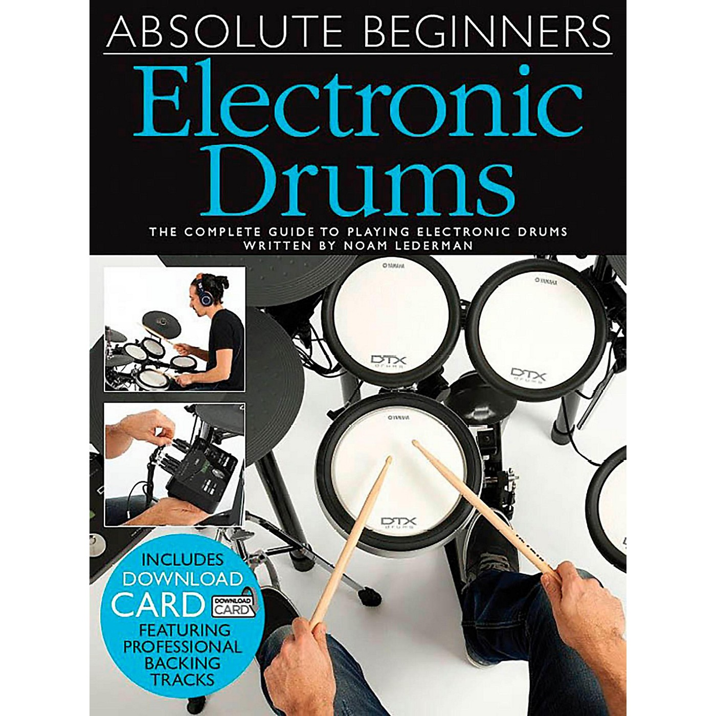 Music Sales Absolute Beginners Electronic Drums (Book/Online Audio) thumbnail