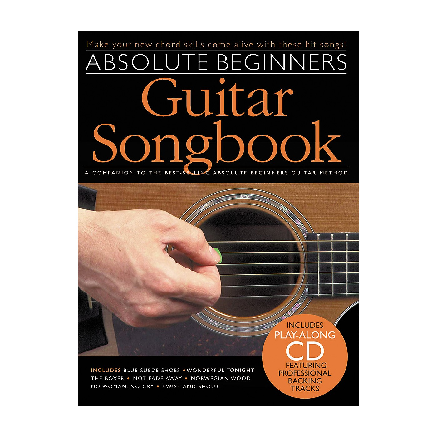 Music Sales Absolute Beginners Guitar Songbook (Book/CD) thumbnail