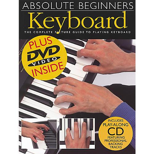 Music Sales Absolute Beginners Keyboard Book/CD/DVD thumbnail
