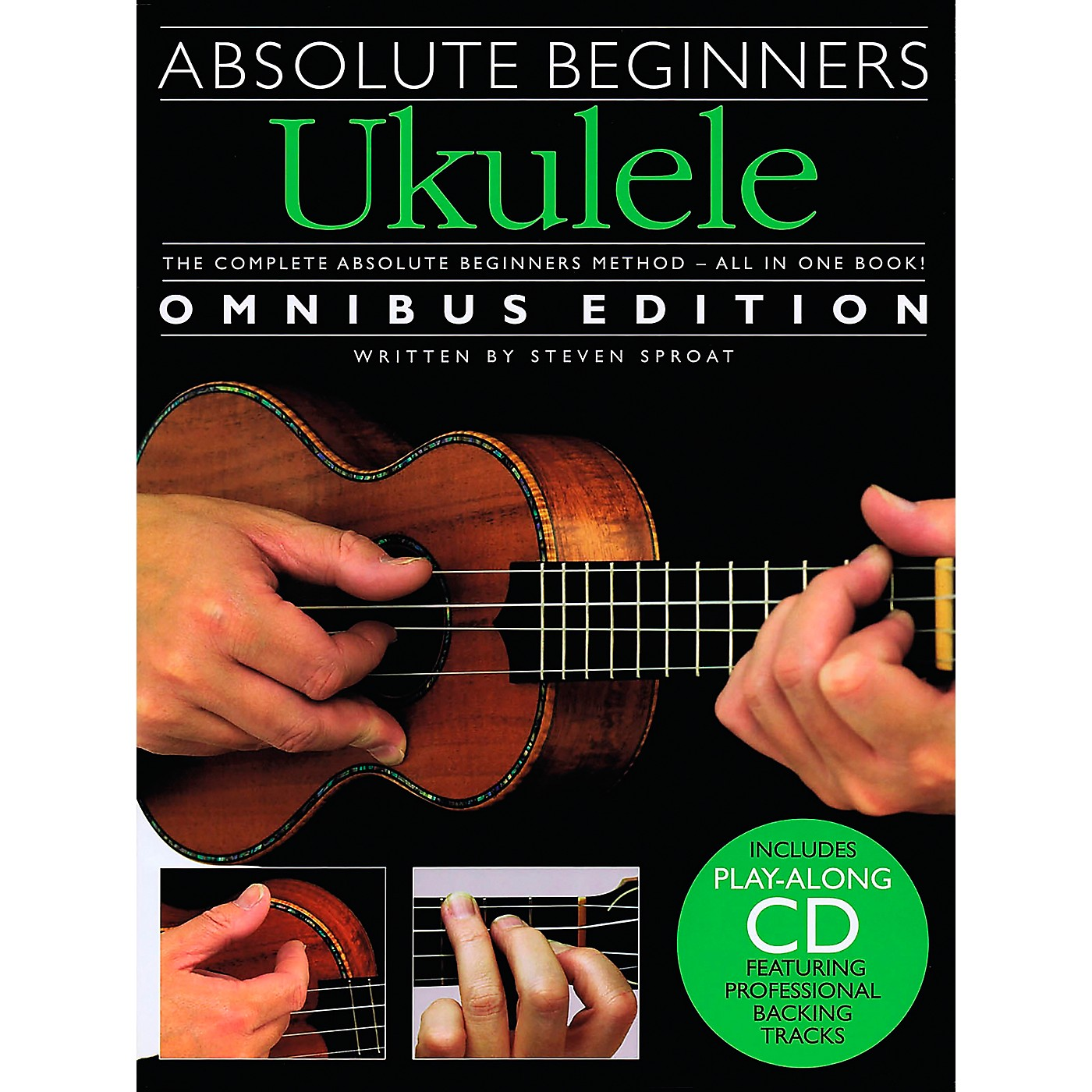 Music Sales Absolute Beginners Ukulele - Books 1 & 2 with CD thumbnail
