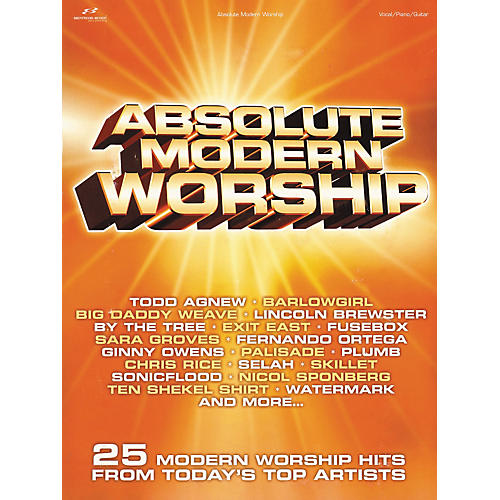 Brentwood-Benson Absolute Modern Worship Piano, Vocal, Guitar Songbook-thumbnail