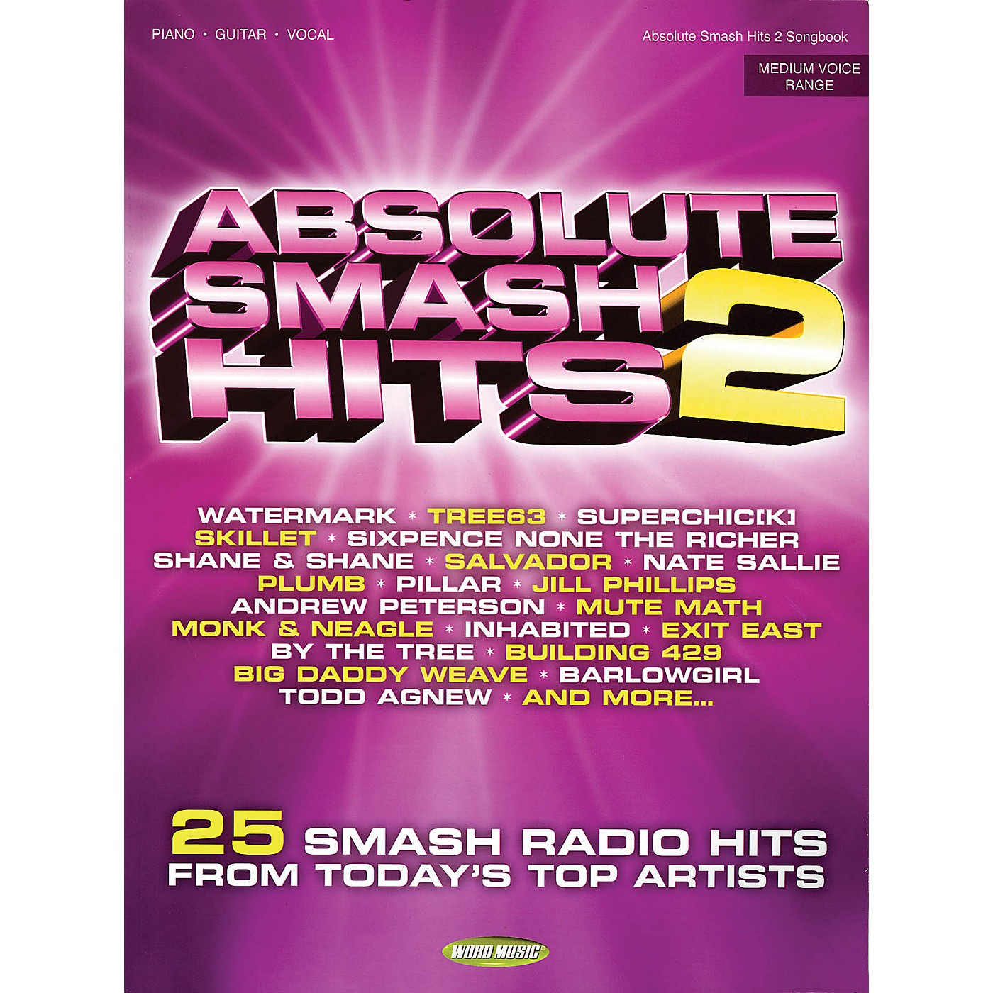 Word Music Absolute Smash Hits, Volume 2 Songbook Series Performed by Various thumbnail