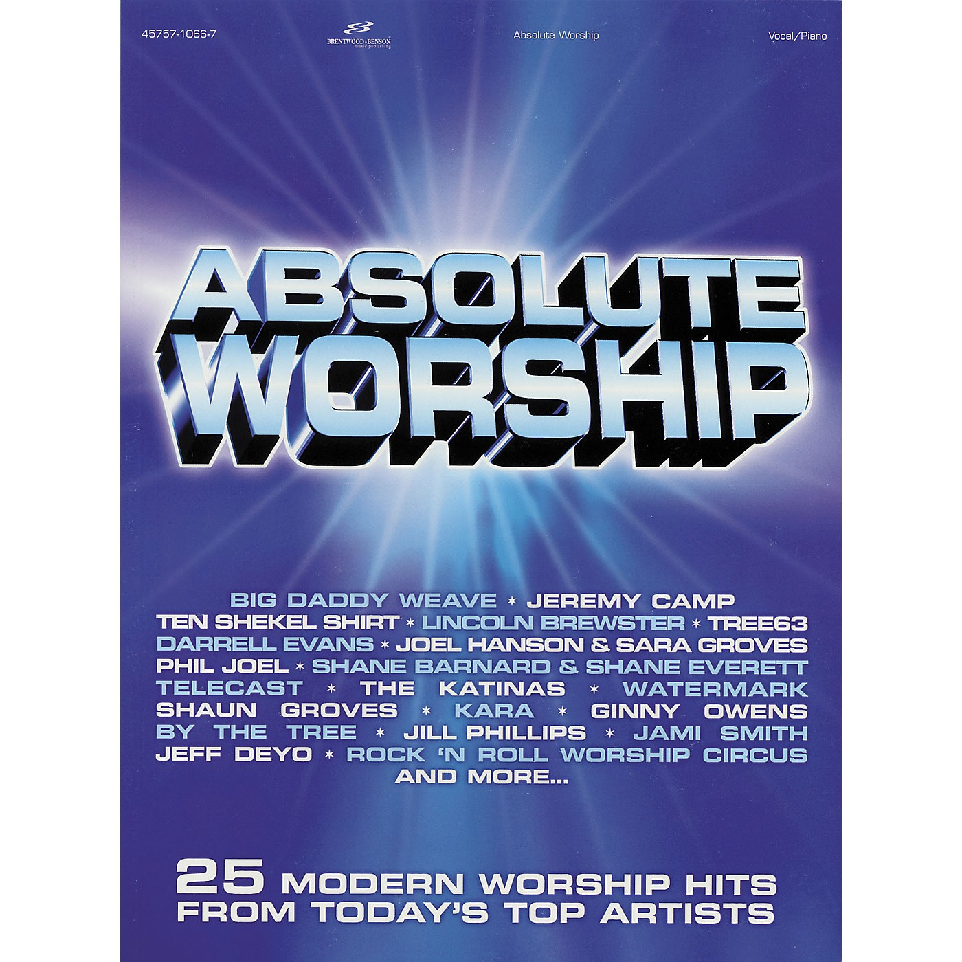 Hal Leonard Absolute Worship Songbook for Piano, Vocal, Guitar Songbook thumbnail