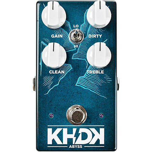 KHDK Abyss Bass Overdrive Effects Pedal thumbnail