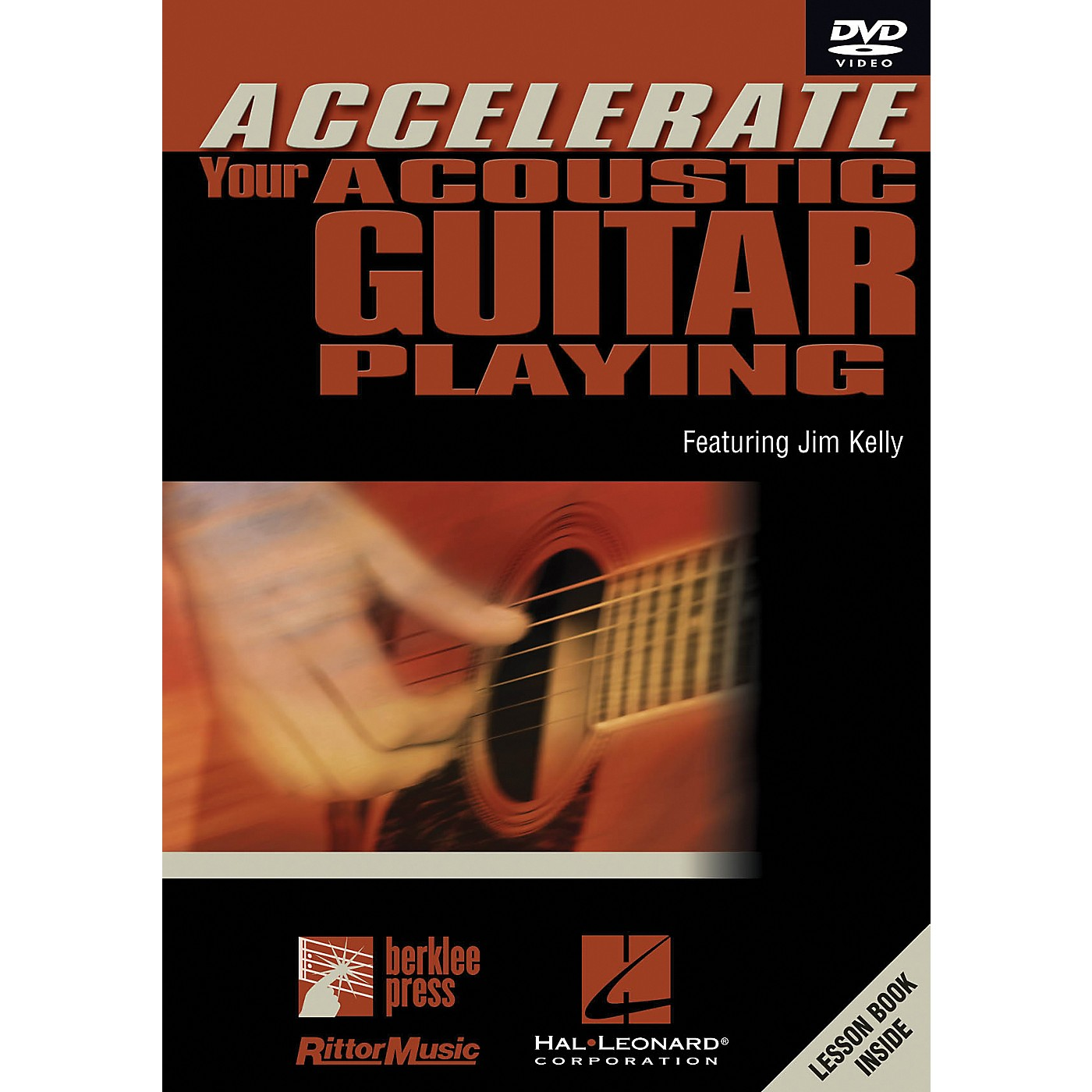 Hal Leonard Accelerate Your Acoustic Guitar Playing DVD thumbnail