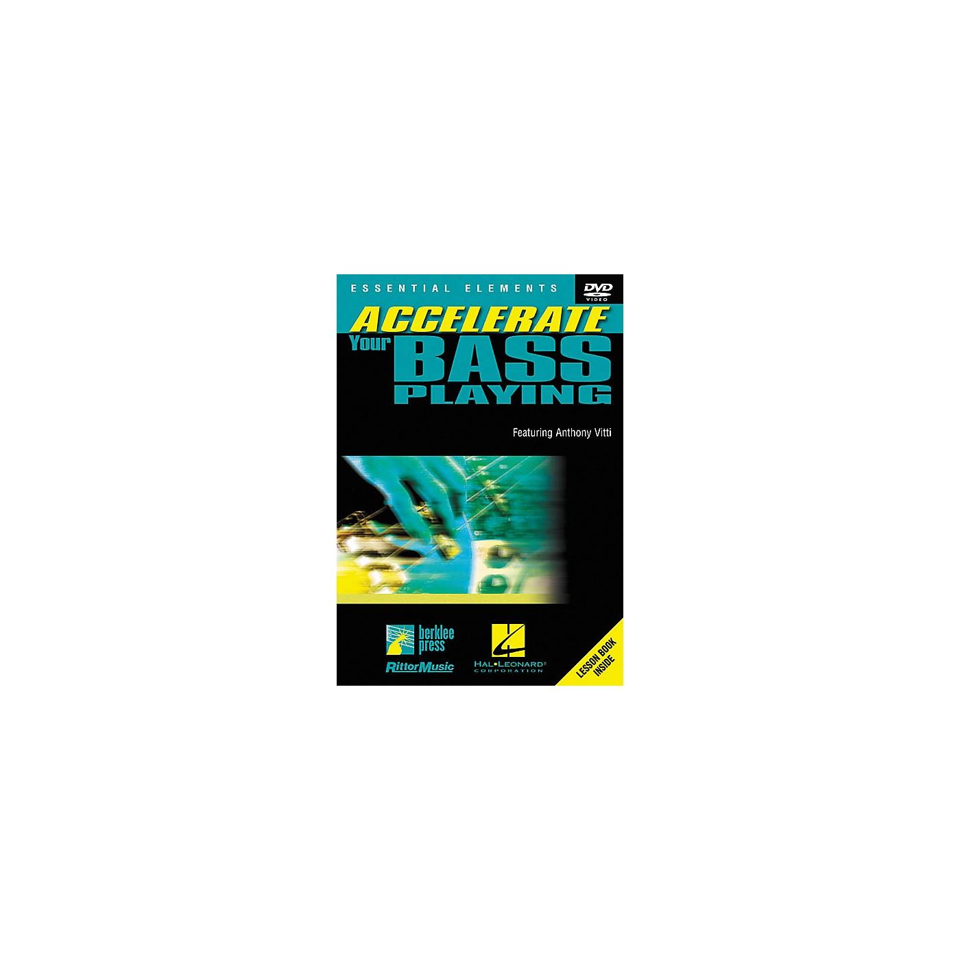 Homespun Accelerate Your Bass Playing (DVD) thumbnail