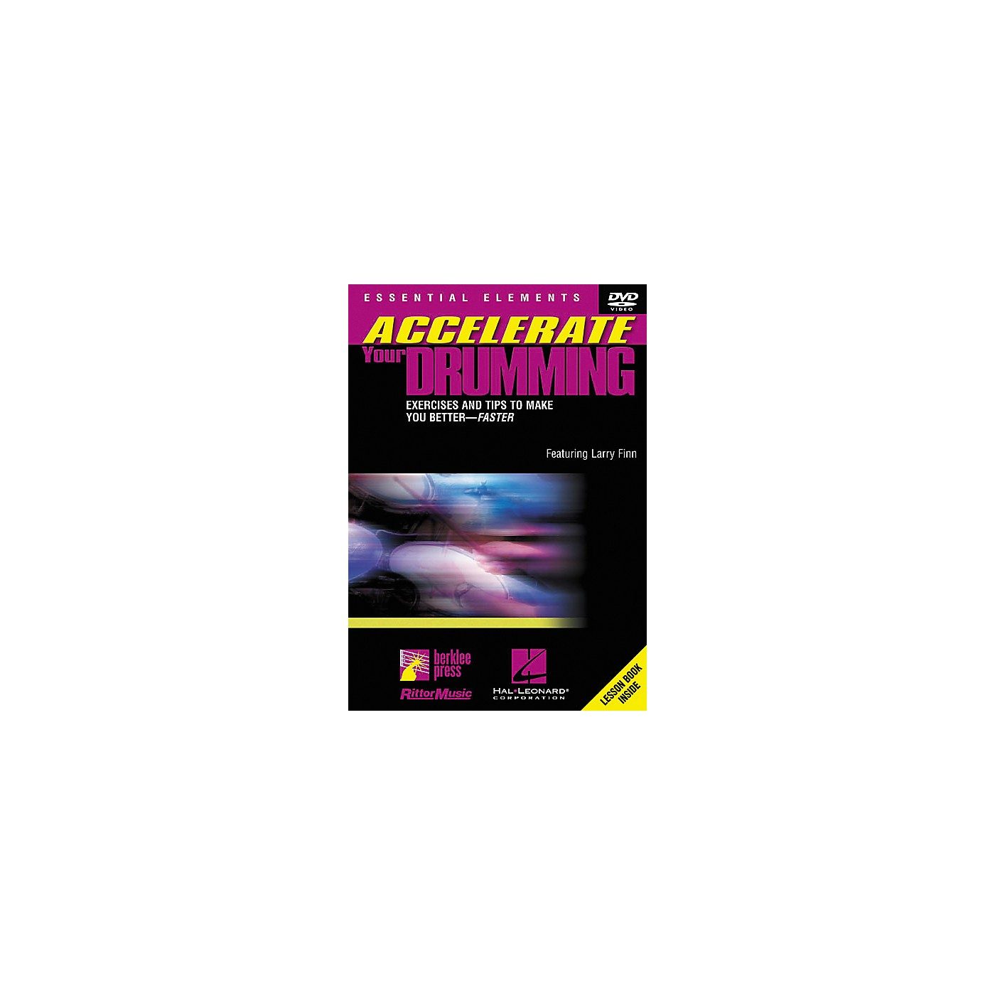 Berklee Press Accelerate Your Drumming (DVD) thumbnail
