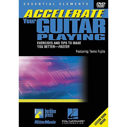 Berklee Press Accelerate Your Guitar Playing (DVD)-thumbnail