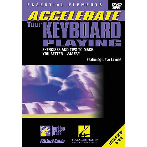 Berklee Press Accelerate Your Keyboard Playing (DVD) thumbnail