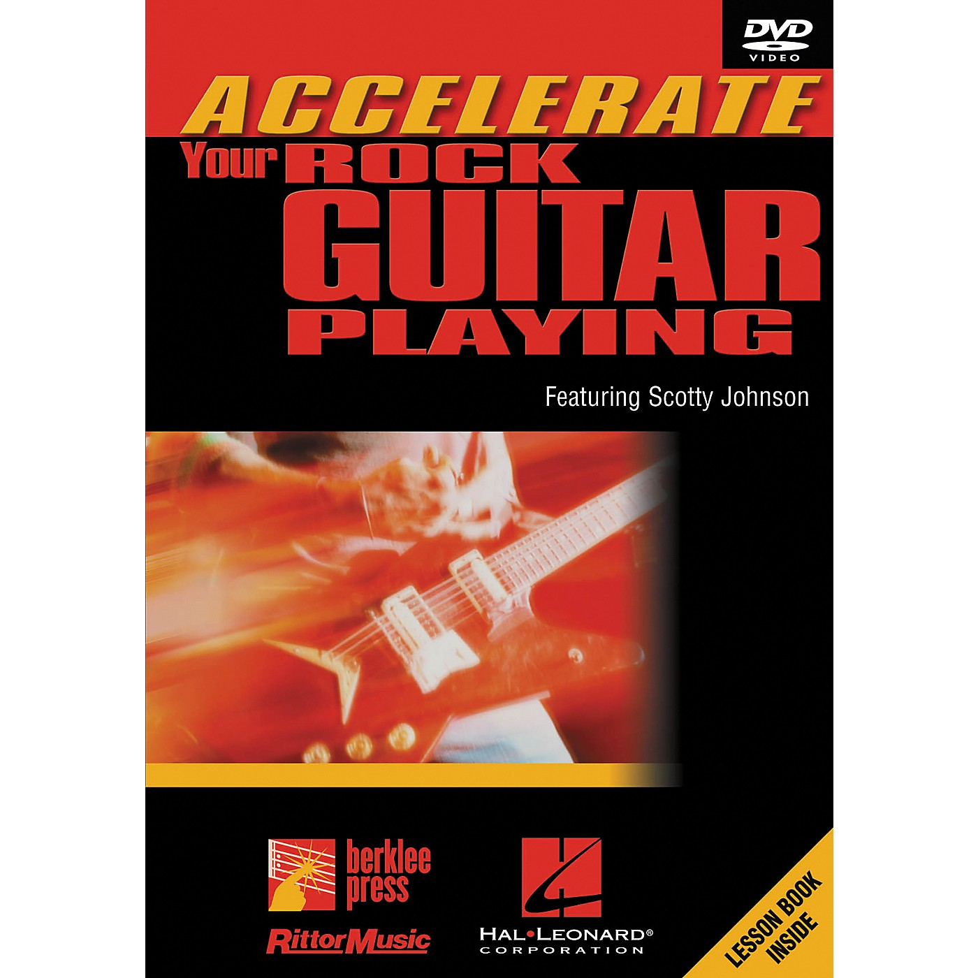 Hal Leonard Accelerate Your Rock Guitar Playing DVD thumbnail