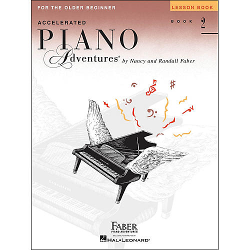 Faber Piano Adventures Accelerated Piano Adventures For The Older Beginner Lesson Book 2 thumbnail