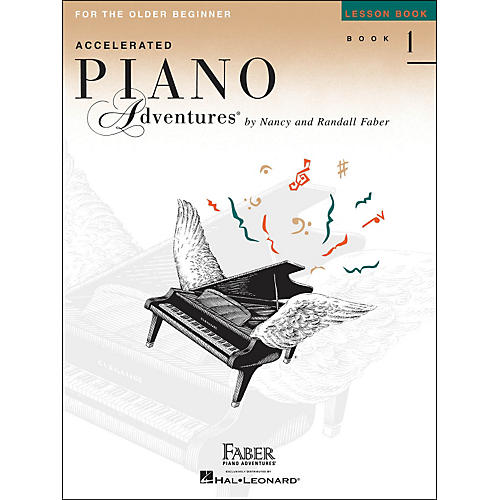 Faber Piano Adventures Accelerated Piano Adventures Lesson Book - Book 1 For The Older Beginner-thumbnail