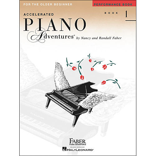 Faber Piano Adventures Accelerated Piano Adventures Performance Book - Book 1 for The Older Beginner - Faber Piano thumbnail
