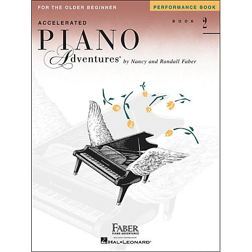 Faber Piano Adventures Accelerated Piano Adventures Performance Book 2 - Faber Piano thumbnail