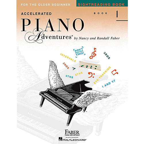 Faber Piano Adventures Accelerated Piano Adventures Sightreading Book 1-thumbnail