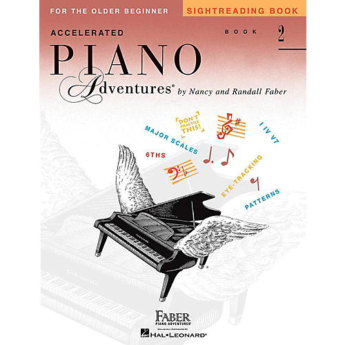 Faber Piano Adventures Accelerated Piano Adventures Sightreading Book 2 thumbnail