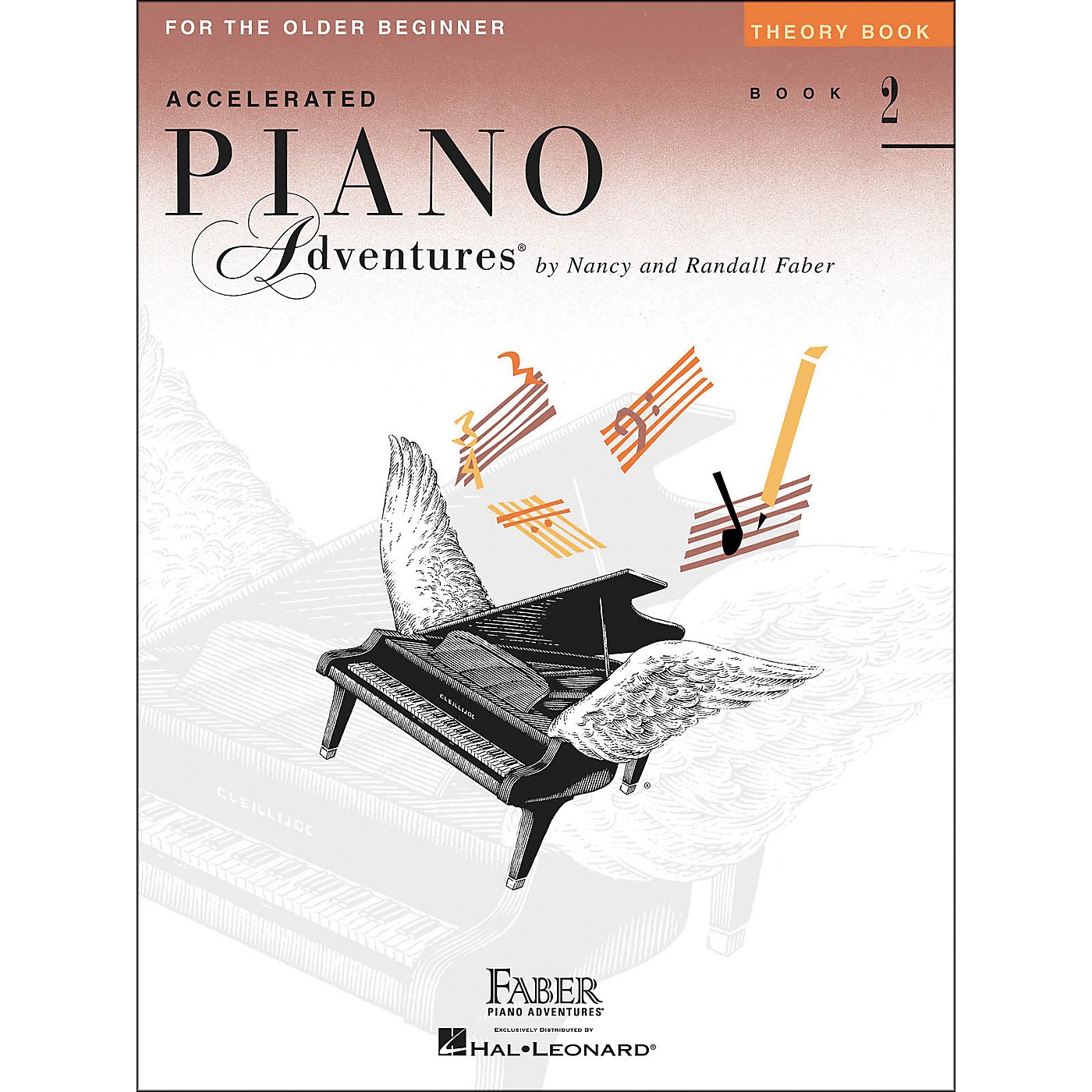 Faber Piano Adventures Accelerated Piano Adventures Theory Book for The Older Beginner Book 2 - Faber Piano thumbnail