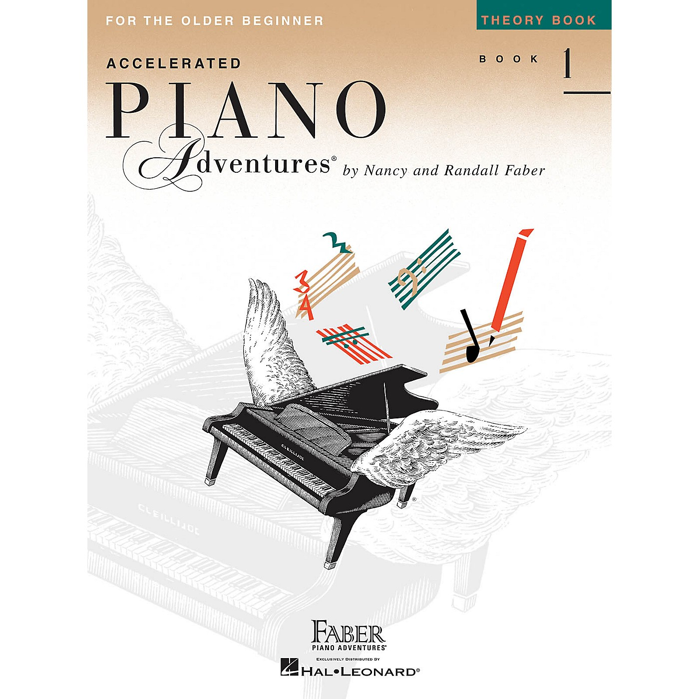Faber Piano Adventures Accelerated Piano Adventures for the Older Beginner - Theory Bk 1, International Edition Faber Piano thumbnail